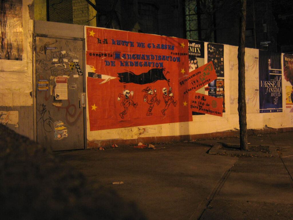 lutte de classe contre marchandisation de l'éducation 22 nov 2012